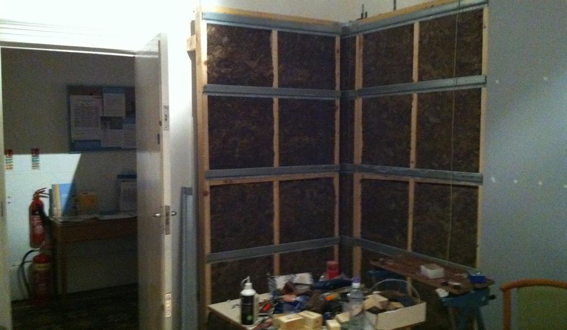 studio panels up