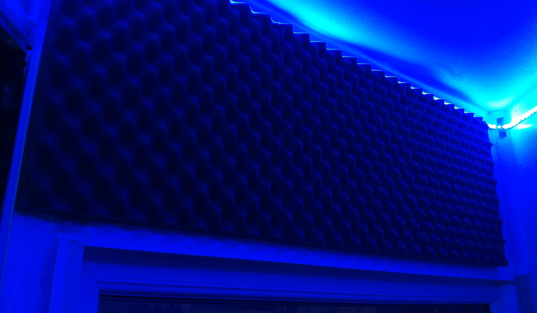 vocal booth lights
