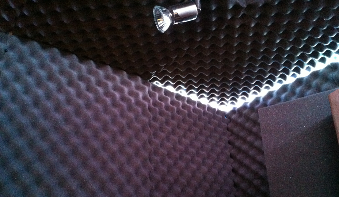 vocal booth walls